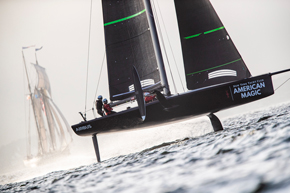 CREAFORM NAMED OFFICIAL SUPPLIER TO AMERICA'S CUP CHALLENGER